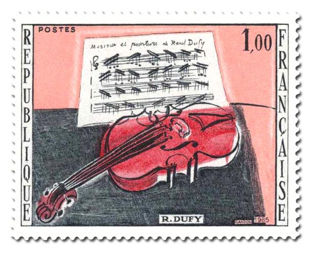 Le Violon rouge de Raoul Duffy
