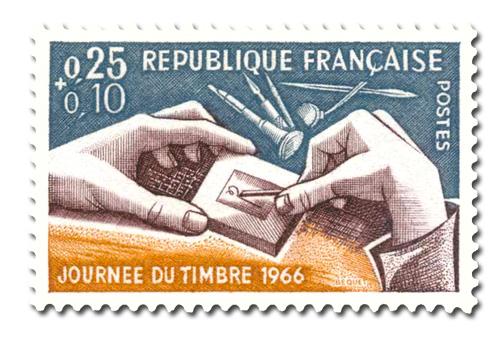 Journée du timbre 1966