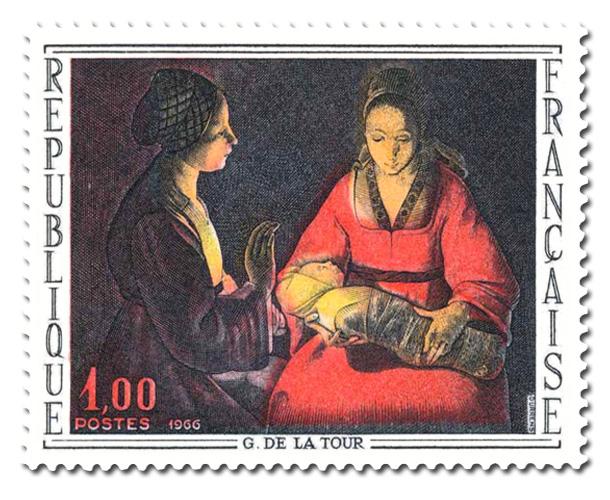 Georges de La Tour  - Le nouveau-né.