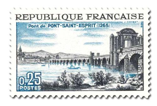 Le Pont de :  Pont-Saint-Esprit