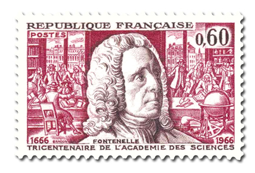 Tricentenaire de l'Académie des Sciences à Paris
