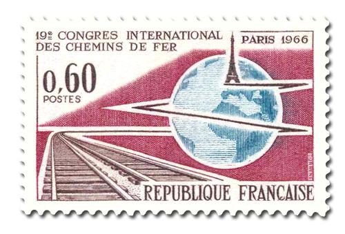 Congès international des chemins de fer à Paris
