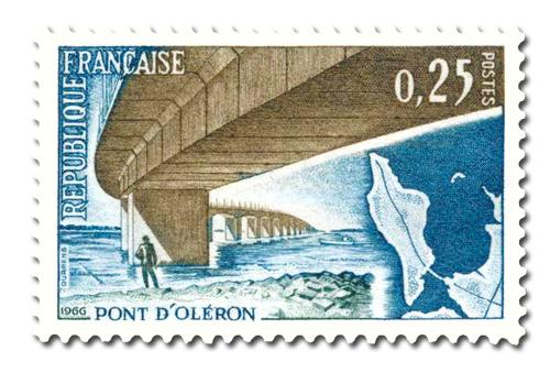 Pont d'Oléron  - Son inauguration.