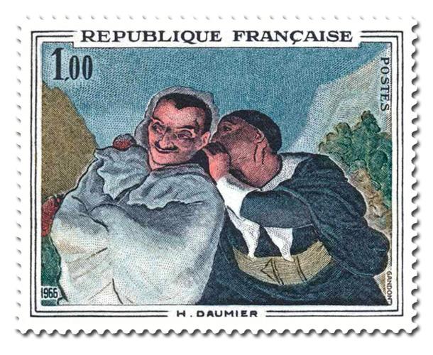 Hororé Daumier  - Crispin et Scapin