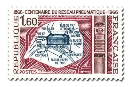 Poste pneumatique - Centenaire.