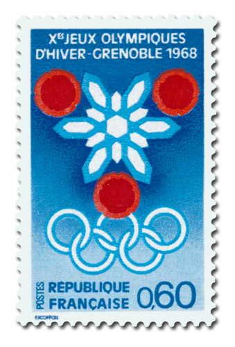 Jeux Olympiques de Grenoble - 1968
