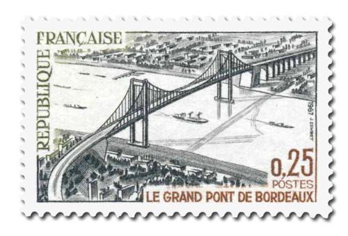 Inauguration du Grand Pont de Bordeaux