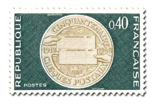 Cinquantenaire des chèques postaux