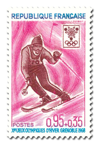 Jeux olympiques d'hiver à Grenoble