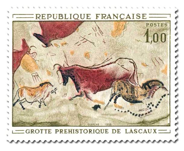 Peinture rupestre de la grotte de Lascaux.