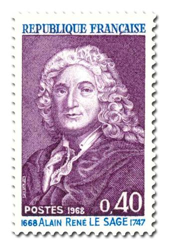 Alain René Lesage (1668 - 1747)