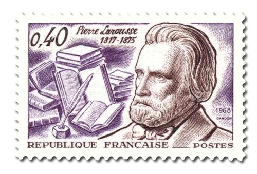 Pierre Larousse ( 1817 - 1875)