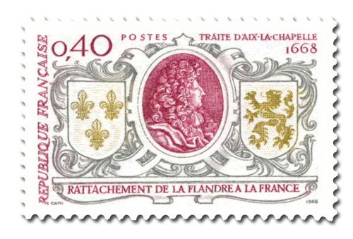 Rattachement de la Flandre (1668)