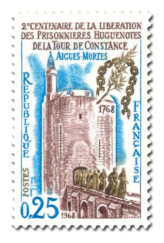 Libération des prisonnières hugenotes de la Tour de Constance