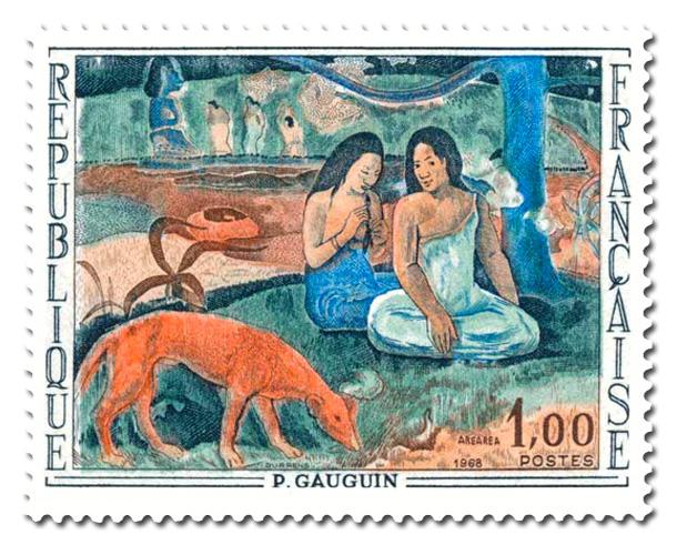 Arearea - Tableau de Paul Gaugin (1848 - 1903)