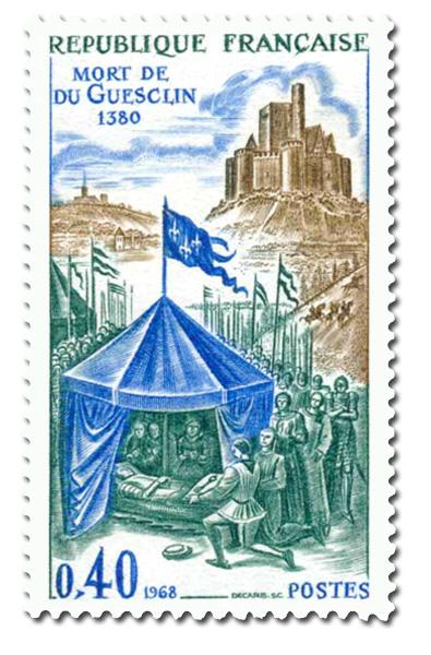 Mort de Bertrand du Guesclin 1320 - 1380