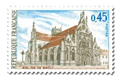 Eglise de Brou à Bourg-en-Bresse (Ain)