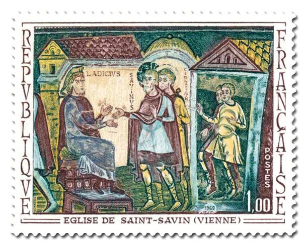 Fresque de l'Abbaye de Saint Savin (Vienne)