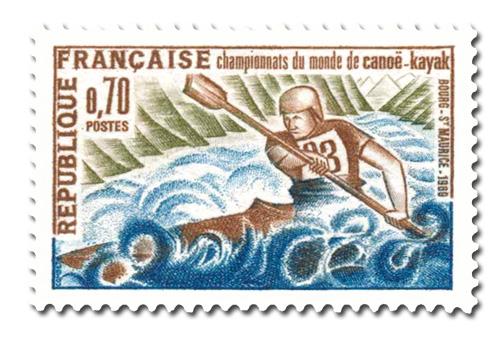 Championnat du monde de canoë-kayak.