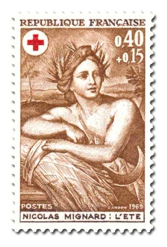 Au profit de la Croix-Rouge française - L'été.