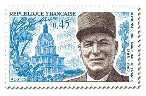 Maréchal Alphonse Juin (1888 - 1967)