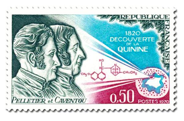 Découverte de la quinine en 1820