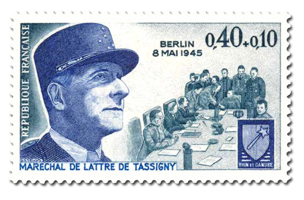 Armistice du 8 mai 1945 - Maréchal De Lattre de Tassigny