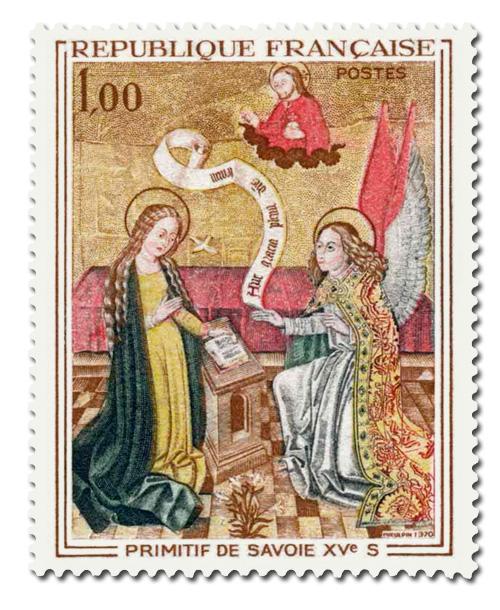 Primitif de Savoie du XVème siècle.