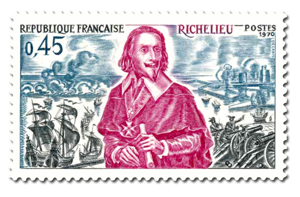 Jean-Armand Du Plessis Duc de Richelieu (1575 - 1642)