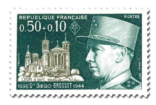 Général Diego Brosset (1898 - 1944) - Célébrité