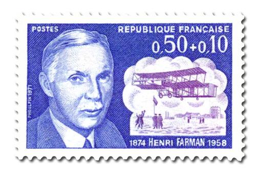 Henri Farman ( 1874 - 1958) - Célébrité