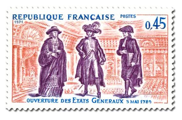 Ouverture des Etats Généraux 5 mai 1789.