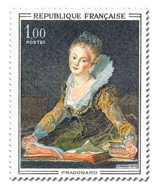 Fragonard  (1732 - 1806)   L'étude
