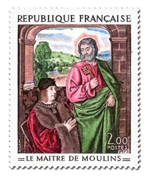 Pierre de Bourbon présenté par Saint Pierre