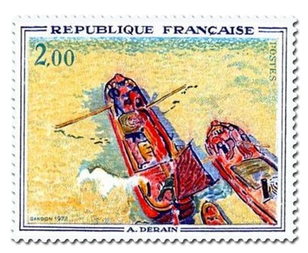 Les Péniches de Derain (1880 - 1954)