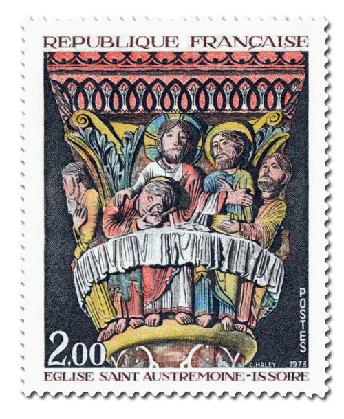 Châpiteau de la Cène de l'église Saint-Austremoine d'Issoire
