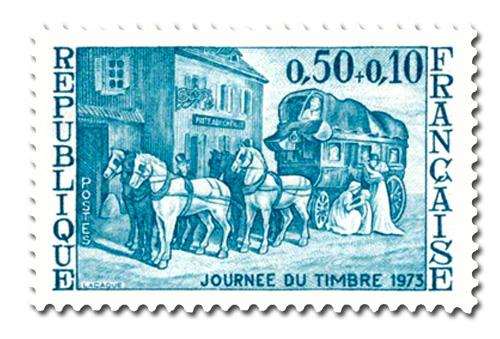 Journée du timbre 1973