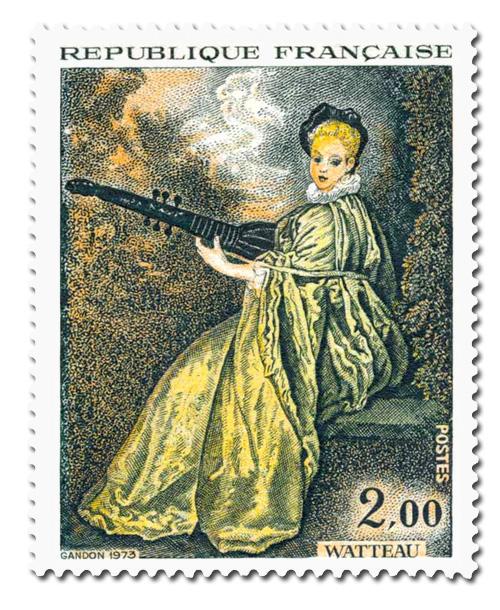 Watteau (1684 - 1721)  -  la Finette