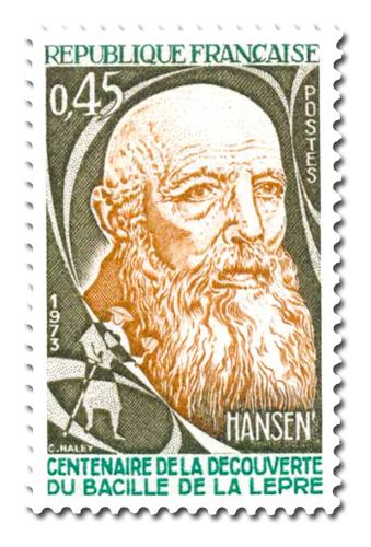 Découverte du bacille de la lèpre par Hansen (1841 - 1912)