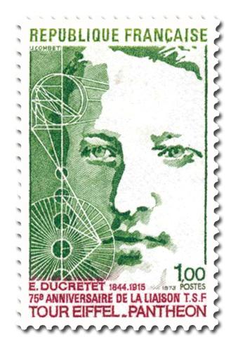 Ducretet (1844 - 1915)  Liaison TSF