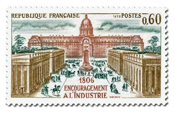 Histoire de France - Encouragement à l'industrie. 1806