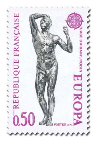 Série Europa 1974 - Sculpture.