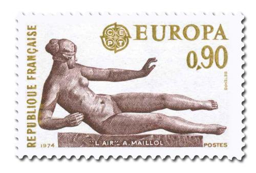 Série Europa 1974 - Sculpture