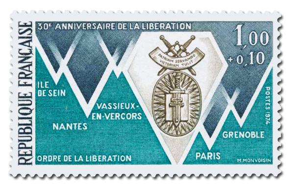 Villes Compagnons de la Libération.