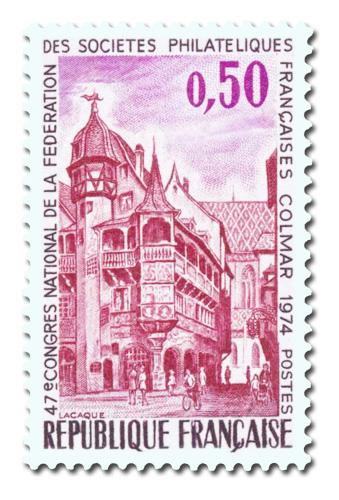 Congrès national de la Fédération des Sociétés philatéliques 1974