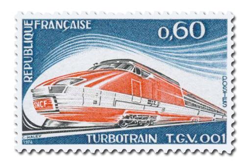Turbotrain - TGV 001