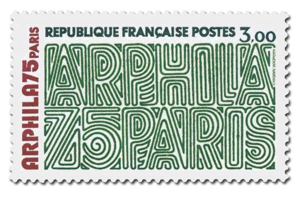 Arphila 75  - Graphisme.
