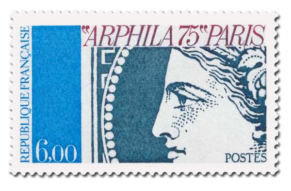 Arphila 75  -  Cérès.  - Couleurs différentes.
