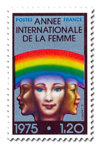 Année Internationale de la Femme.