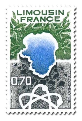 Régions de France. - Limousin -
